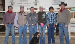 2015 Givens Memorial-  Family member Britt Givens, 1st place Heath Jones, 2nd Waldo Tarango, 3rd Skye Glick, 4th Lane Hill and 5th Jeremy Jarrardl