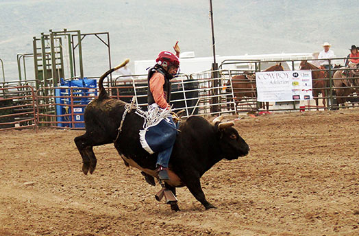 Jr. Bull Riding